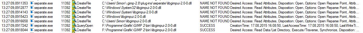 DLL Suchreihenfolge